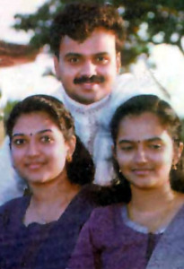 Kunchacko Boban sisters Anu and Minu