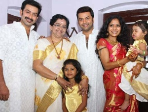 Prithviraj Sukumaran rare family photos 1
