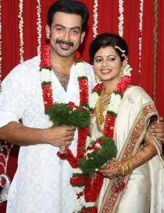 Prithviraj Sukumaran wedding photos 1