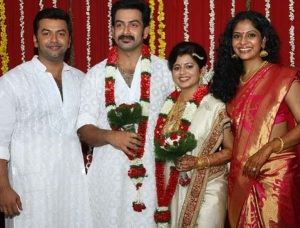 Prithviraj Sukumaran wedding photos 2