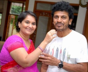 Puneeth Rajkumar sister in law Geetha