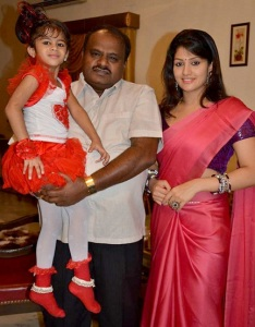 Radhika Kumaraswamy daughter Shamika K. Swamy