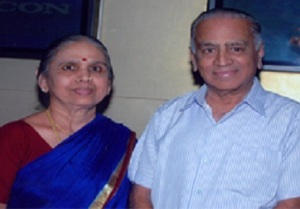 Ramesh Aravind parents