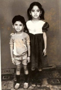 Actor Nani Childhood pictures 1