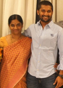 Actor Nani Parents mother Vijayalakshmi
