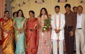 Actress Meena Wedding photos 4