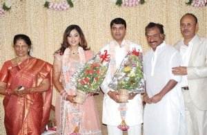 Actress Meena Wedding photos 5