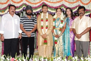 Actress Meena Wedding photos 7