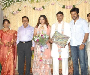 Actress Meena Wedding photos 9