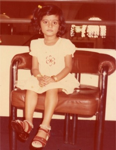 Actress Sneha Childhood pictures 1