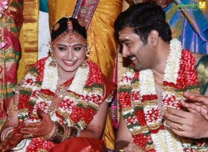 Actress Sneha Wedding photos 1