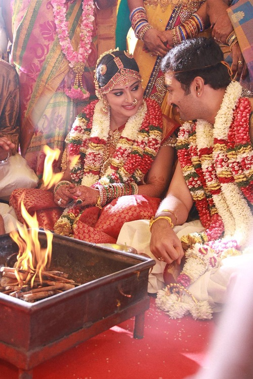 Wedding Photos Actress Sneha
