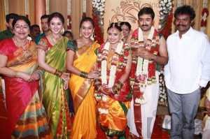 Actress Sneha Wedding photos 3