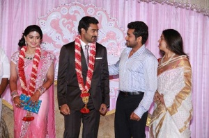 Actress Sneha Wedding photos 7