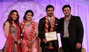 Actress Sneha Wedding photos 8