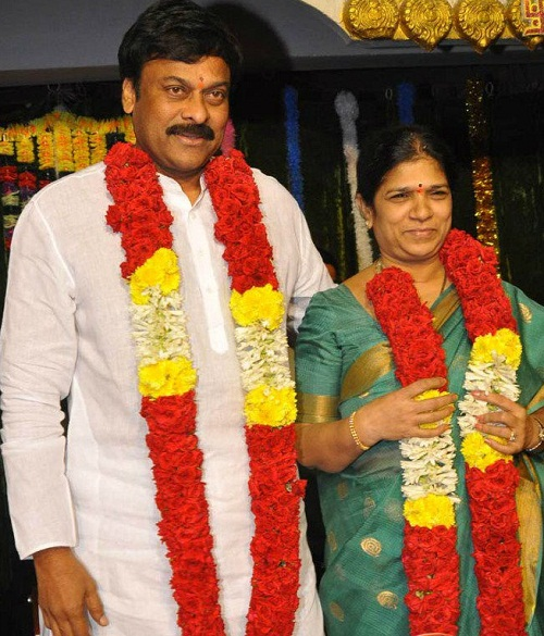 Chiranjeevi family, childhood photos | Celebrity family wiki