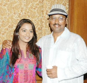 K. Bhagyaraj Children daughter Saranya Bhagyaraj