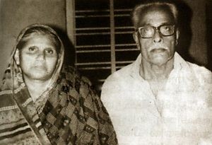 Mammootty parents father Ismail and mother Fatima
