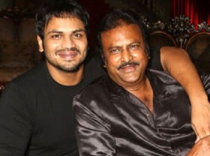 Manchu Manoj parents father Mohan Babu