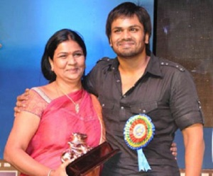 Manchu Manoj parents mother Vidya Devi
