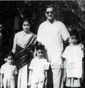 Nandamuri Balakrishna Childhood pictures