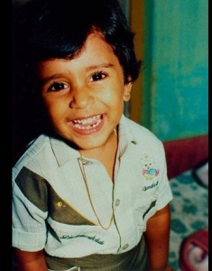 Nivin Pauly childhood pictures