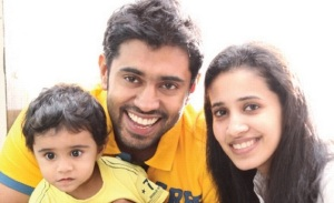 Nivin Pauly children son Daveed Pauly