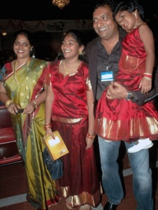Prakash Raj children daughter Meghana and Pooja