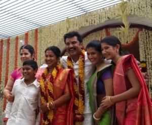 R. Sarathkumar daughter Pooja
