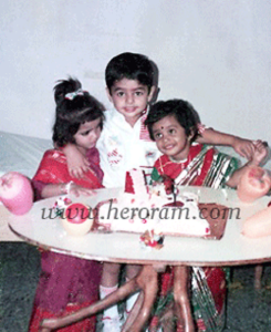 Ram Pothineni Childhood pictures