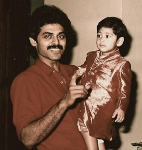 Rana Daggubati Childhood pictures 1