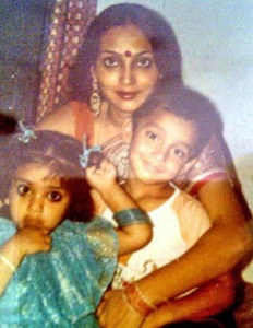 Shriya Saran Childhood pictures 2