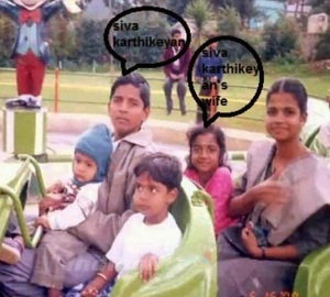 Sivakarthikeyan childhood pictures 1a
