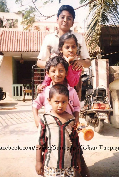 Suresh raina childhood photos