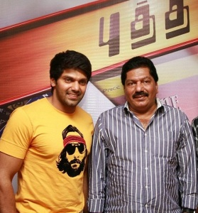 Tamil actor Arya parents father Umer 1