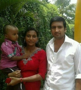 Tamil actor N Santhanam wife Usha