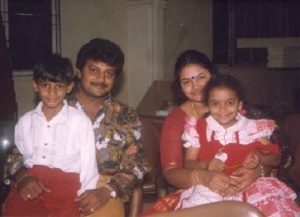 Telugu actor Aadi childhood pictures 1