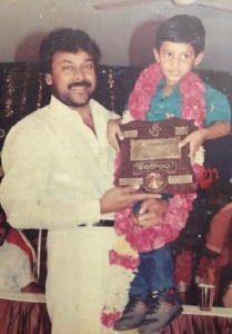 Telugu actor Aadi childhood pictures 2