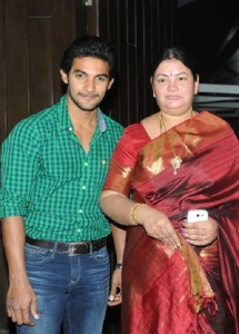 Telugu actor Aadi parents mother Surekha