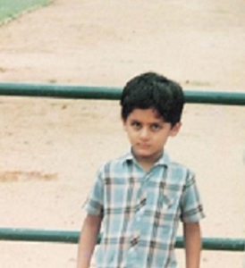Telugu actor Nithiin Kumar Reddy Childhood pictures