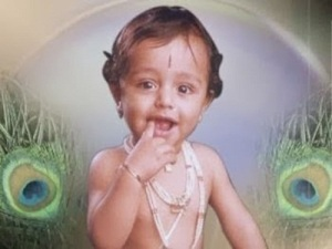 Telugu actor Prabhas Childhood pictures 1