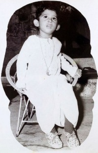 Telugu actor Prabhas Childhood pictures 3