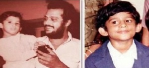 Telugu actor Prabhas Childhood pictures 4