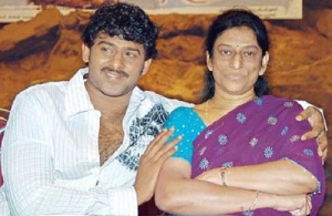 Telugu actor Prabhas parents mother Siva Kumari