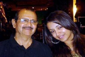 Trisha parents father Krishnan