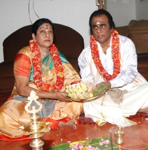 Vishal Krishna parents father G. K. Reddy and mother Janaki Devi