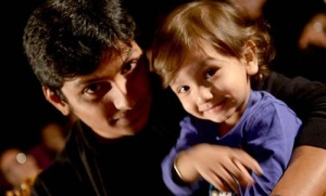 Actor Jeeva children son Sparsha Choudary