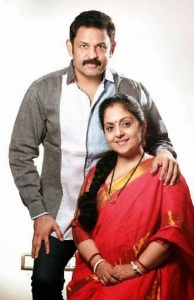 Actor Krishna Kumar wife Sindhu