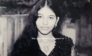 Actress Anjali Childhood pictures