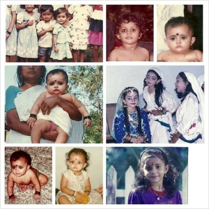Actress Bhama Childhood pictures 1